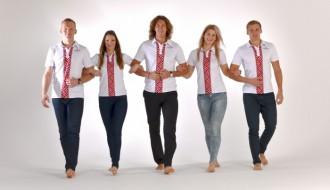 Foto: Latvijas olimpiskajai komandai jauna vizuālā identitāte