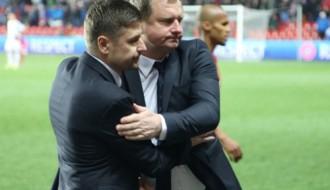 """Čehijas treneris: """"Latvija mūs pārsteidza un guva pilnībā pelnītus vārtus"""""""