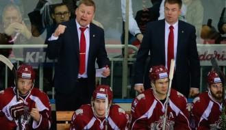 """Video: Rīgas """"Dinamo"""" uz sava ledus piekāpjas KHL līderim"""