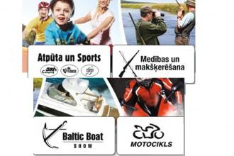 """Visiem aktīvajiem un sportiskajiem- izstāde """"Atpūta un sports 2014"""""""