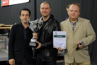 """""""RTU Open"""" šaha turnīrā uzvar armēnis Melkumjans"""