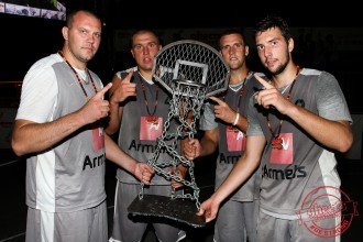 """Ghetto Basket"" čempionvienība - Jelgavas ""Armets"""