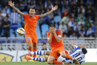 """Pārtrūkst """"Valencia"""" uzvaru sērija"""
