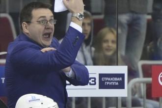 Bārtuļa treneris Nazarovs pēc spēles rupji <i>pasūta</i> žurnālistu