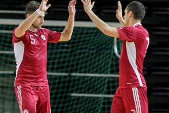 Latvijas telpu futbolisti izcīna Baltijas kausu