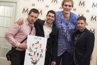 Brāļi Šici pateicas par iedvesmu un paraugu Latvijas sporta veterāniem
