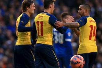 """""""Arsenal"""" sīvā cīņā uzvar, turpinot aizstāvēt FA kausu"""