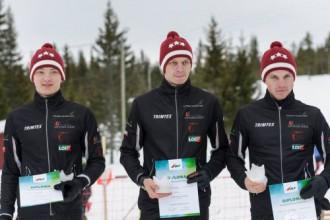 Latvijas ziemas orientieristi stafetē iegūst piekto vietu pasaulē