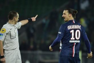 Ibrahimovičam par rupjību divu spēļu diskvalifikācija
