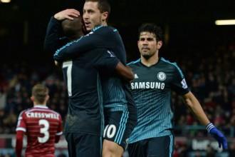 """""""Chelsea"""" uzvar derbijā, panākumi arī citām favorītēm"""