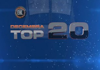 Video: EHL decembra mēneša TOP20