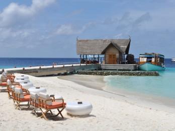Foto: Constance Moofushi Maldives- viesnīca, kurā iemīlas no pirmā brīža