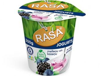 Nopērkami jauni RASA jogurti ar Latvijā audzētām cidonijām un mellenēm