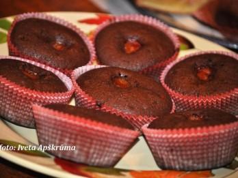 Ātrie šokolādes keksiņi vai mafini <i>(muffin)</i>