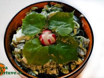 Liepu lapu salāti