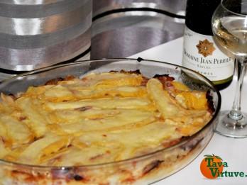 TARTIFLETTE- franču virtuves gardais sacepums