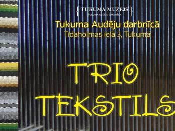Tukuma Audēju darbnīcā atklās trīs autoru tekstildarbu izstādi