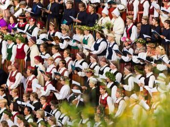 Martā un aprīlī noritēs Latvijas koru skates