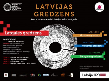 """Atklāts vērienīgais Latvijas valsts simtgades koncertuzvedumu cikls """"Latvijas gredzens"""""""
