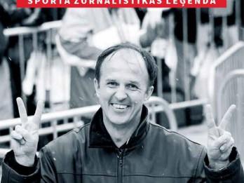 """Apgādā """"Jumava"""" iznākusi grāmata par sporta žurnālistikas leģendu  Arturu Vaideru"""