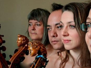 Pirmo reizi Latvijā viola da gamba kvartets no Kanādas