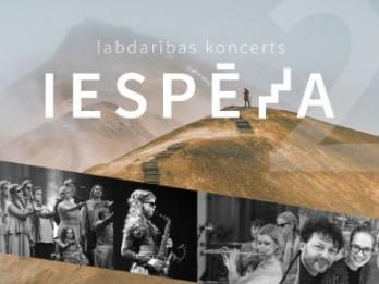 """10. martā notiks labdarības koncerts """"Iespēja"""""""