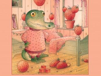"""Jauna grāmata bērniem! Ķēstutis Kasparavičs - """"Zemeņu diena"""""""