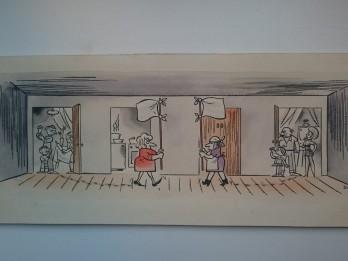 Miris mākslinieks, karikatūru meistars Imants Melgailis