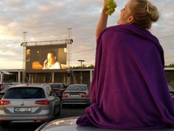 Brīvdabas kino sezona turpinās