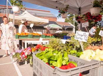 Foto: Āgenskalna tirgus atklāšana fotomirkļos