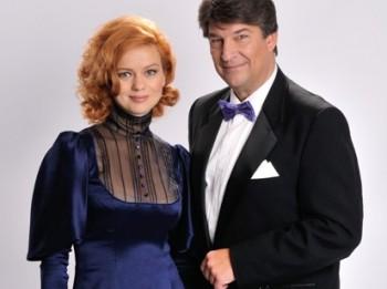 Dita Lūriņa un Ingus Pētersons gatavojas Ziemassvētku koncertiem Ķīpsalā