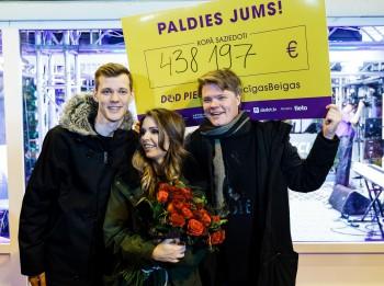 Labdarības maratonā Dod Pieci! kopā saziedoti gandrīz pusmiljons eiro!