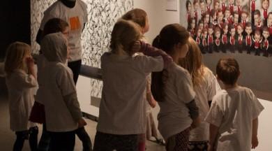 """Izglītojoša programma bērniem """"Es arī!"""" izstāžu zālē """"Rīgas mākslas telpa"""""""