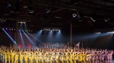 """Latvijas valsts simtgadē dejas izrāde """"No zobena saule lēca"""" atgriežas nebijušā  konceptā"""