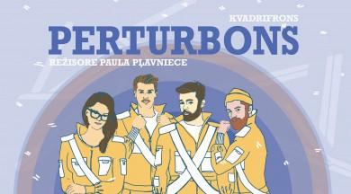 """Teātra trupas KVADRIFRONS izrāde – detektīvs bērniem """"Perturbons"""""""