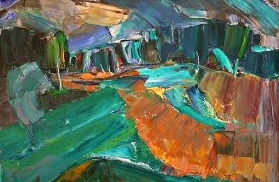 """Mākslas galerijā """"Durvis"""" - Emīls Braunbergs un Uģis Puzulis"""