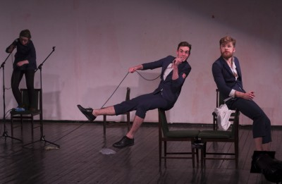 Šonedēļ Ģertrūdes ielas teātra izrādes tiks spēlētas Spīķeros un Ventspilī