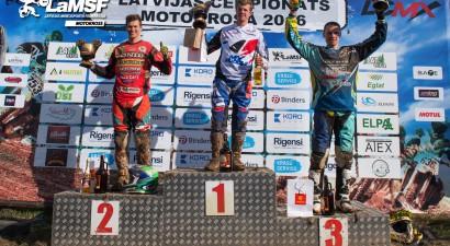 Svētdien Cēsīs norisināsies TRIOBET SPORTS Latvijas čempionāts motokrosā