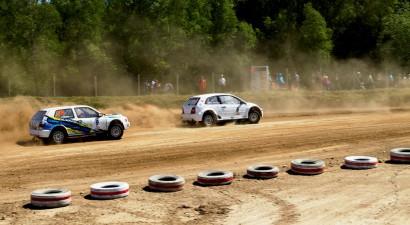 Vecpilī varētu tikt kronēti šī gada pirmie Latvijas autokrosa čempioni