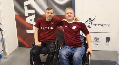 Dmitrijs Valainis kļūst par Eiropas vicečempionu ratiņpaukošanā