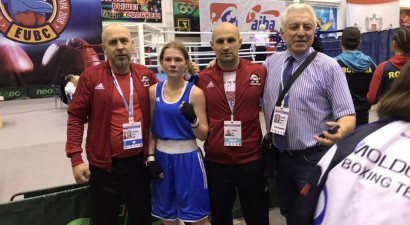 Boksere Siļķe zaudē Eiropas junioru čempionāta pusfinālā, bet iegūst bronzu