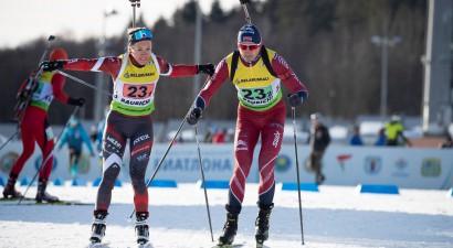 Rastorgujevs pietuvojas goda pjedestālam, Latvijai jauktajā pāru stafetē 7. vieta