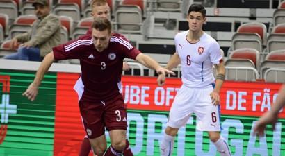 Cerības zaudējusī Latvija Pasaules kausa kvalifikāciju noslēdz ar Vācijas sagraušanu