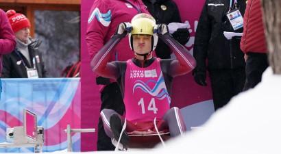 Kamaniņu braucēji sagādā Latvijai ceturto medaļu jaunatnes olimpiskajās spēlēs