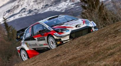 Sebastjans Ožjē ātrākais Montekarlo WRC treniņos