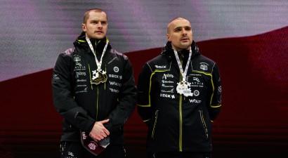Ķibermanis ar Mikni kļūst par Eiropas čempioniem un izrauj otro vietu PK kopvērtējumā