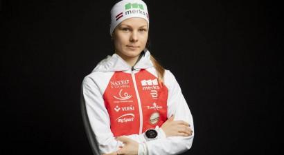 Patrīcijai Eidukai kāpums pasaules rangā un rekordvietas distancē un sprintā