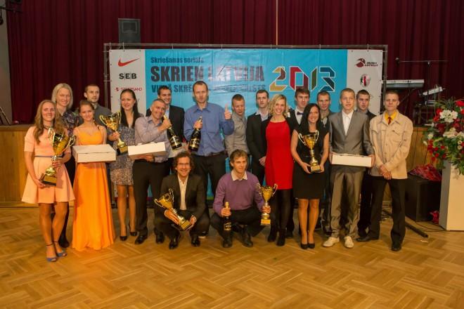 """Noslēgusies skriešanas seriāla """"Skrien Latvija"""" 2013 sezona"""