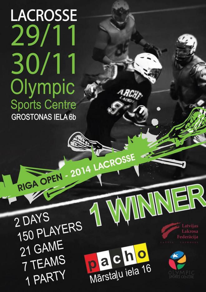 Nedēļas nogalē Rīgā notiks starptautisks lakrosa turnīrs