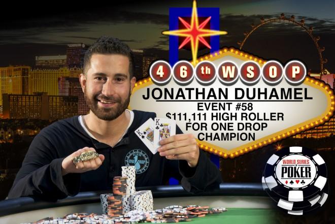 Džonatans Duhamels uzvar One Drop un saņem $3'989'985
